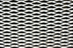 Metallic texture pattern of grille Royalty Free Stock Photo