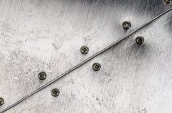 Metallic texture Stock Images