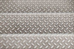 Metallic textured background Stock Images