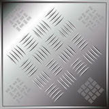Metallic tile Royalty Free Stock Images