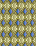 Metallic tile background Stock Images