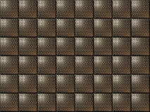 Metallic tiles. Silver metallic style tiles with bright corners Royalty Free Stock Image