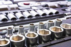 Metallic tools Royalty Free Stock Photo