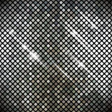 Metallic vector texture. Stock Images