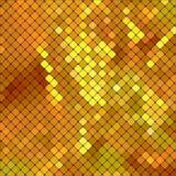 Metallic vector texture. Metallic gold mosaics. Abstract vector background Royalty Free Stock Photography
