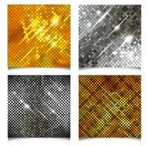 Metallic vector texture. Royalty Free Stock Photos
