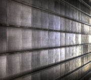 Metallic wall stock photography