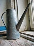 Metallic water jug Royalty Free Stock Images