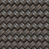 Metallic Weave Royalty Free Stock Images