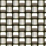 Metallic weave Stock Photography