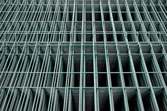 Metallic wire mesh Stock Photography