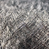 Metallic wires abstract Royalty Free Stock Image