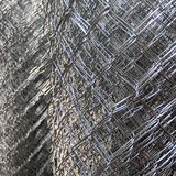 Metallic wires abstract Stock Image