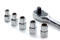 Metallic wrench Royalty Free Stock Photos