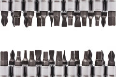 Metallic wrenches Royalty Free Stock Photography