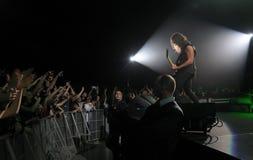 Metallica στο γύρο Στοκ Φωτογραφία