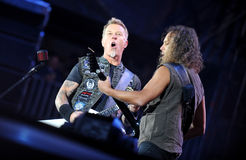 Metallica stockbild