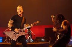 Metallica przy Moscone centrum 2011 Zdjęcie Stock
