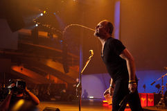 Metallica przy Moscone centrum 2011 Obraz Stock