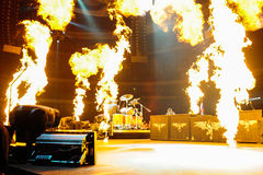 Metallica concert Royalty Free Stock Photography