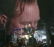 Metallica durante il giro Immagine Stock
