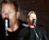 Metallica en el festival CZ de Sopnisphere Imagen de archivo libre de regalías