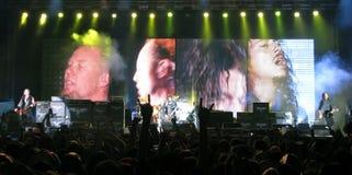 Metallica en tournée Photo stock