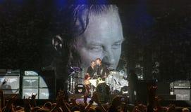 Metallica en tournée Photographie stock libre de droits