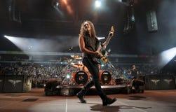 Metallica en viaje foto de archivo