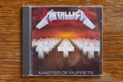 Metallica förlage av CD dockor royaltyfria foton