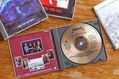 Metallica förlage av dockor och andra CD fotografering för bildbyråer