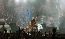 Metallica na excursão Fotografia de Stock Royalty Free