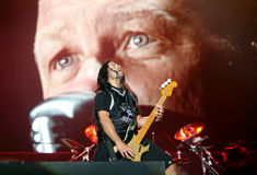 Metallica On Sopnisphere Festival CZ Stock Photo