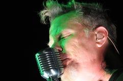 Metallica op reis Royalty-vrije Stock Afbeelding