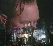 Metallica op Reis Stock Afbeelding