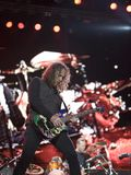 Metallica performs in Budapest Stock Images