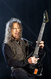 Metallica on Sopnisphere festival CZ Royalty Free Stock Photos