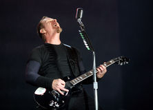 Metallica on Sopnisphere festival CZ Stock Image