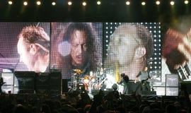 Metallica on Tour Stock Photo