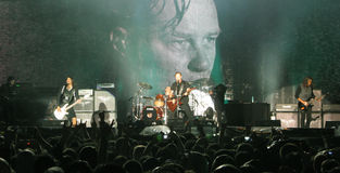 Metallica on Tour Stock Photography