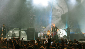 Metallica on Tour Stock Photo