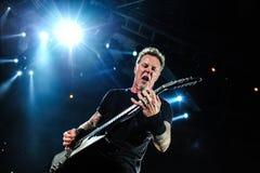 Metallicaoverleg stock foto's