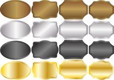 Metallico illustrazione di stock
