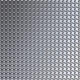 metallico Reticolo astratto Fotografia Stock Libera da Diritti