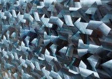 Metallico strutturato Fotografia Stock