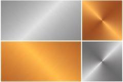 Metallillustrationsbeschaffenheit Lizenzfreies Stockbild