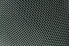 Metallineinander greifen Stockbild