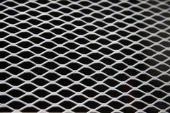 Metallineinander greifen Stockfotografie