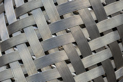 Metallineinander greifen Lizenzfreie Stockfotos