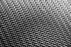 Metallineinander greifen Hintergründe oder Beschaffenheit Stockfotografie